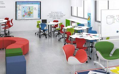Por qué un aula colorida es mejor para aprender