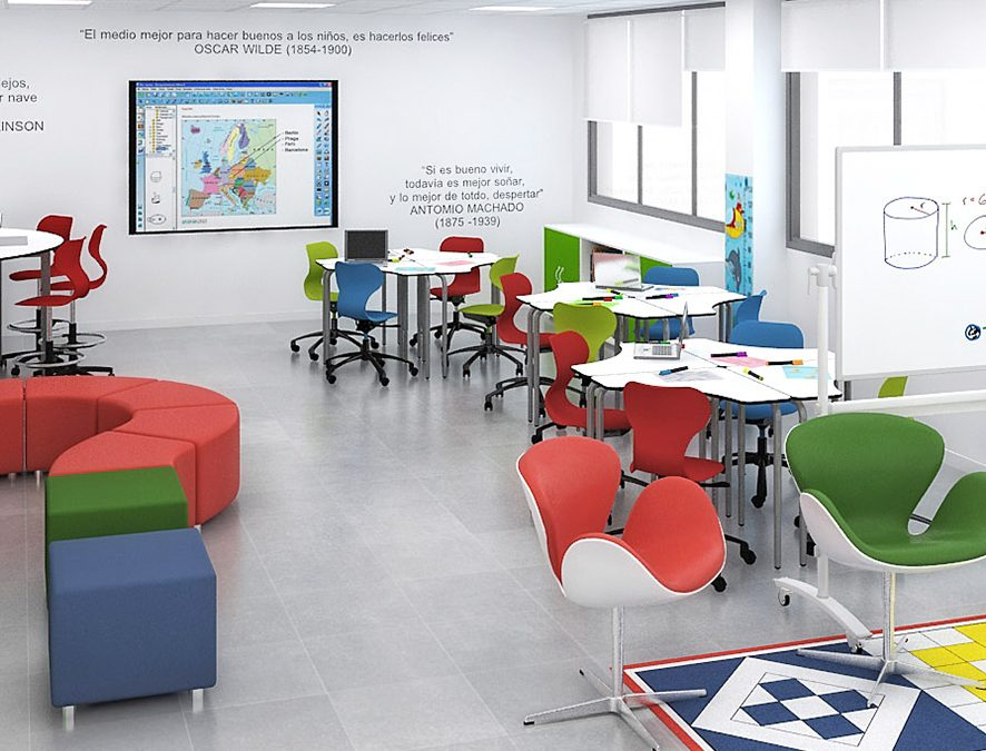 Why do colourful classrooms are better for students